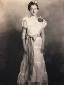 My grandmother, Clara Davis, at age 14.  I owe it to her to educate myself and others.